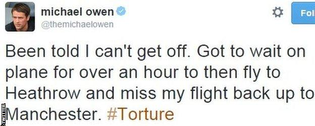 Michael Owen on Twitter