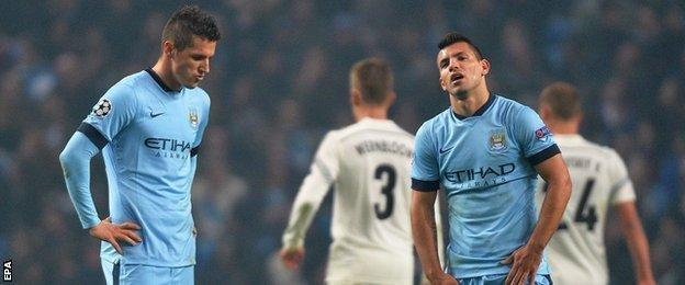 Stefan Jovetic and Sergio Aguero