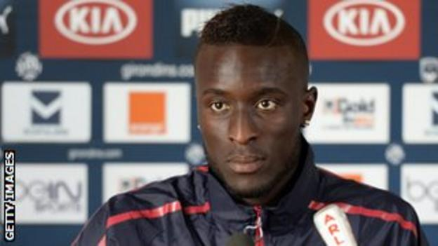 Bordeaux and Senegal's Lamine Sane