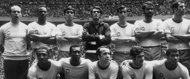 Brazil 1970 World Cup team