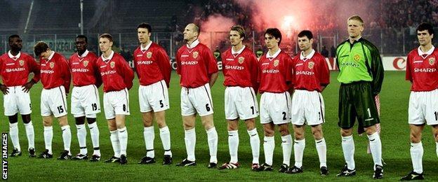 Manchester United 1999 team