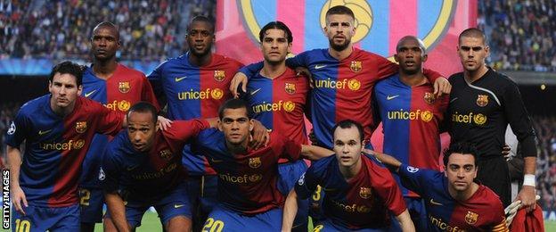 Barcelona 2009 team