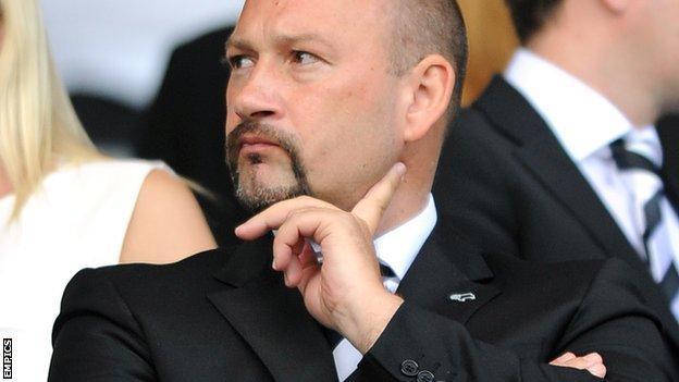 Derby chief executive Sam Rush