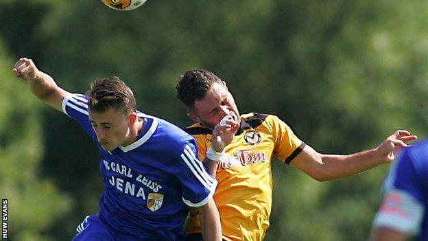 Newport midfielder Robbie Wilmott (right) needs a foot operation