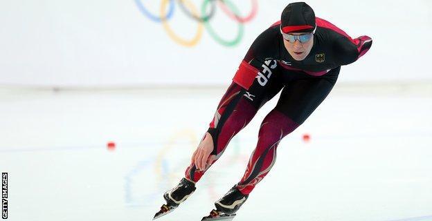 German speed skater Claudia Pechstein