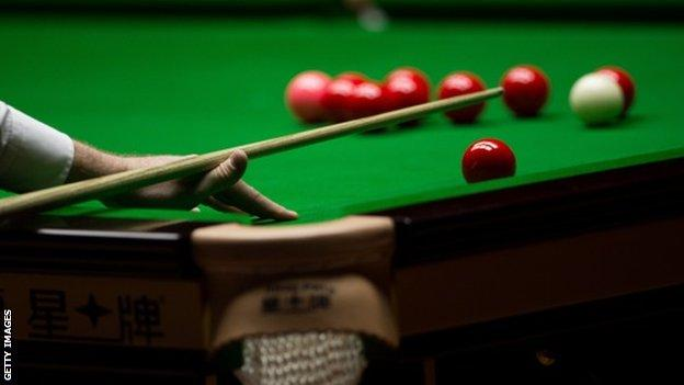 Snooker World Open cancelled