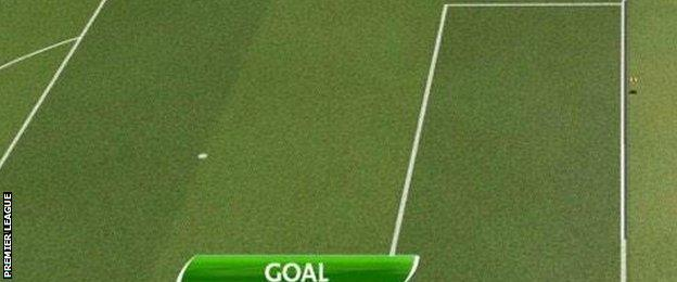 Goalline technology confirmed Gary Cahill's opener had crossed the line