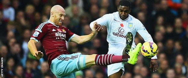 James Collins and N'Zogbia
