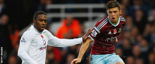 Charles N'Zogbia and Aaron Cresswell