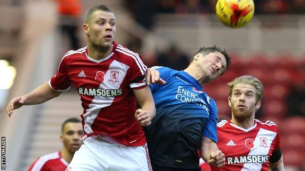 Middlesbrough v Bournemouth