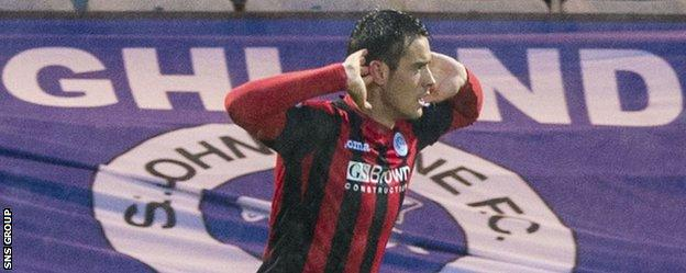 Brian Graham, on loan from Dundee United, enjoyed scoring at Dens Park
