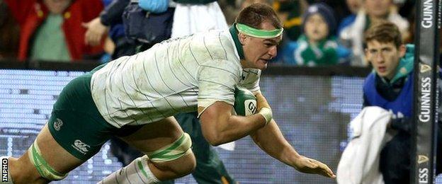 Rhys Ruddock replaced ill Chris Henry in the Ireland line-up