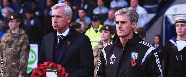 Alan Pardew & Alan Irvine