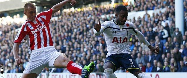 Stoke's win was only their second in their last 17 trips to White Hart Lane in all competitions
