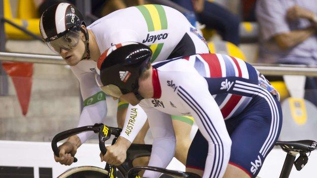 Jason Kenny (right) narrowly lost out to Matthew Glaetzer