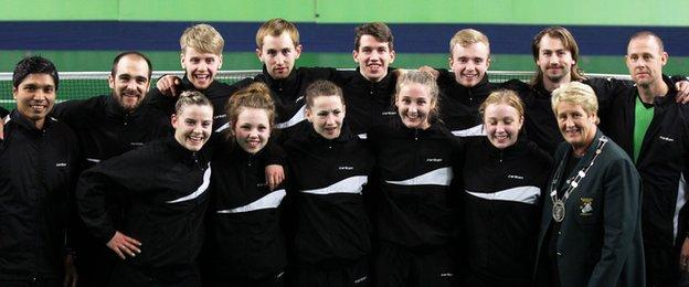 Ireland qualified for the European Mixed Team Championships
