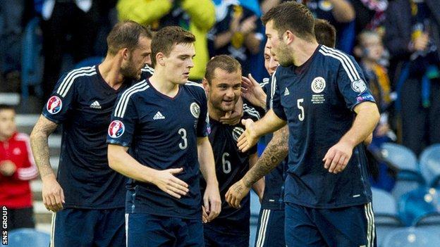 Scotland beat Georgia 1-0 at Ibrox last month