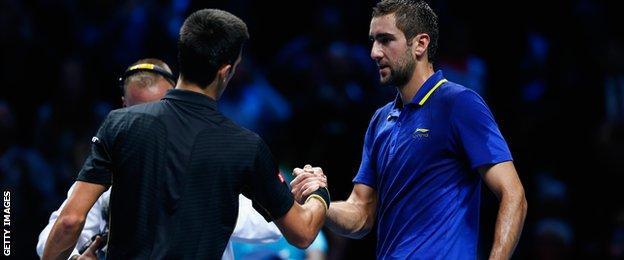 Djokovic & Cilic