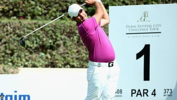 Ollie Farr finished third in the Challenge Tour's season-closing event in Dubai
