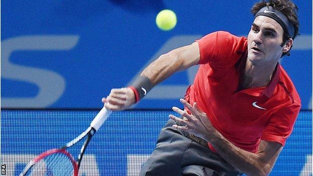 Roger Federer beats Kei Nishikori
