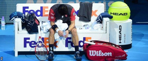 Kei Nishikori v Roger Federer