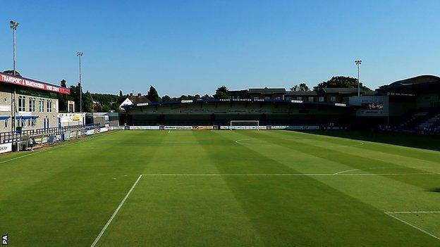 Bucks Head, home of AFC Telford United