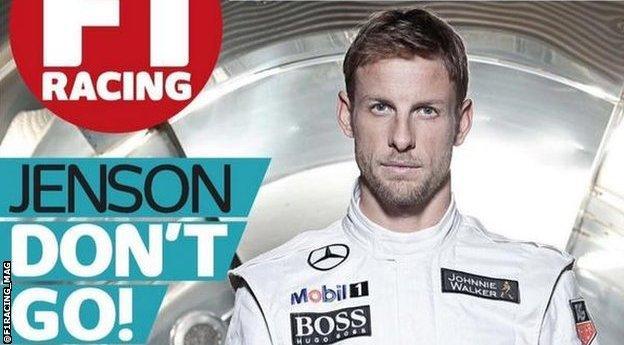 F1 Racing mag