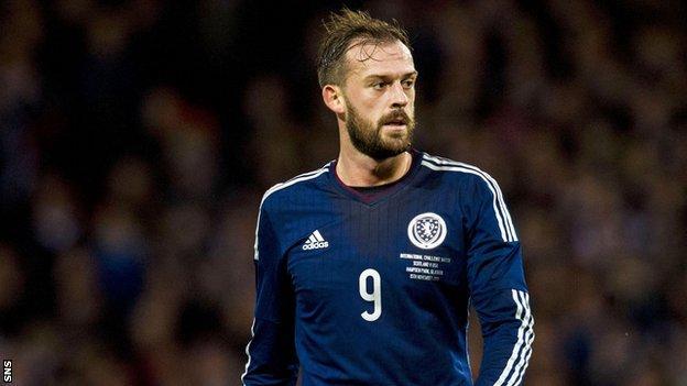 Scotland striker Steven Fletcher