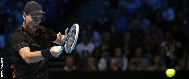 Berdych is making his fifth consecutive ATP Finals appearance