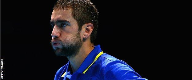 Marin Cilic loses to Tomas Berdych