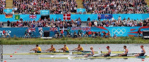 Rowing at London 2012