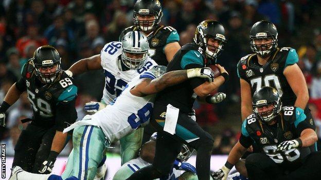 Dallas Cowboys v Jacksonville Jaguars at Wembley