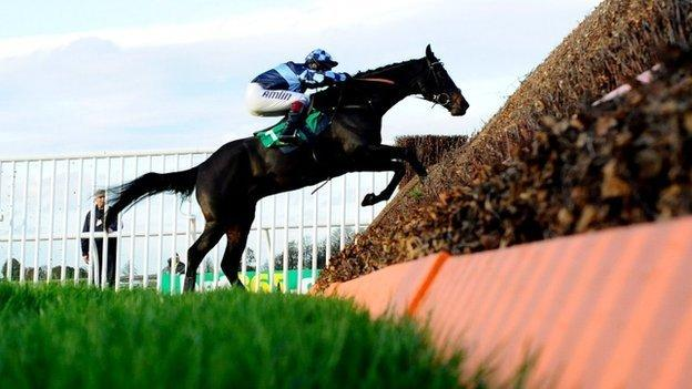 Menorah in the 2014 Charlie Hall Chase at Wetherby