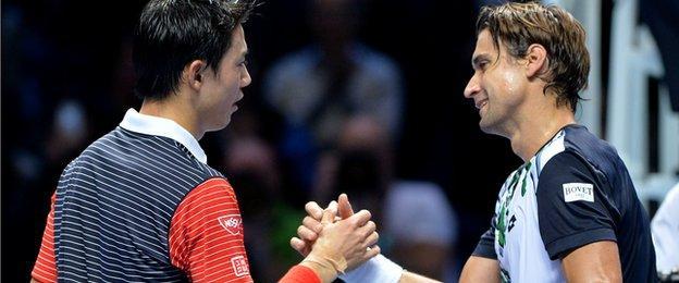 Nishikori & Ferrer