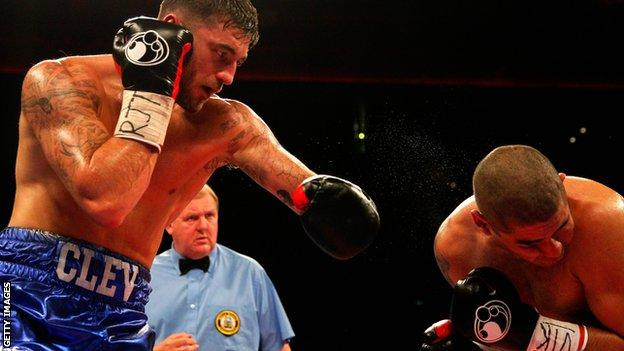 Nathan Cleverly outpointed Tony Bellew when the pair met at light-heavyweight in 2011