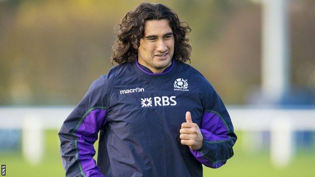Scotland flanker Blair Cowan
