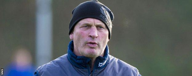 Scotland coach Vern Cotter