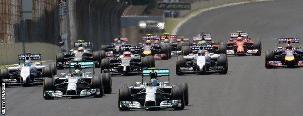 The 2014 Brazilian GP