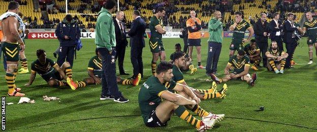 Australia players