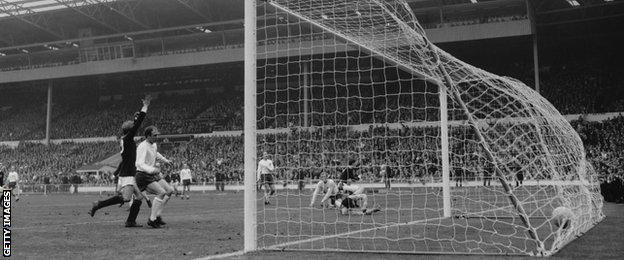 Scotland beat England at Wembley in 1967