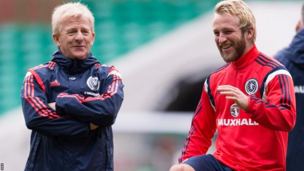 Gordon Strachan and Johnny Russell