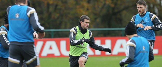 Gareth Bale train