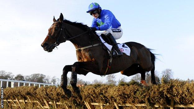 Hurricane Fly, ridden by Ruby Walsh