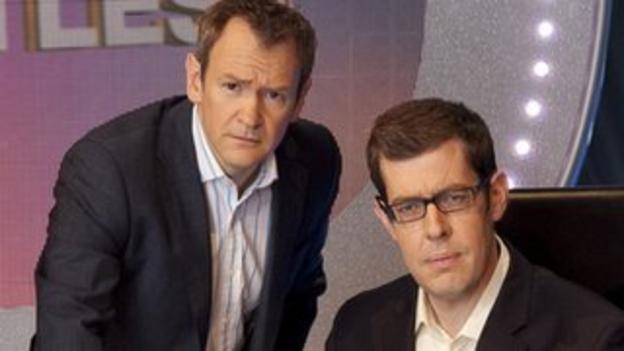 Alexander Armstrong and Richard Osman on Pointless