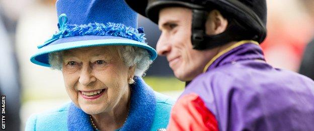 Ryan Moore and The Queen