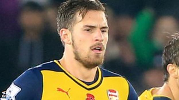 Aaron Ramsey of Arsenal