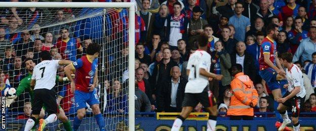 Joe Allen gives Liverpool the lead