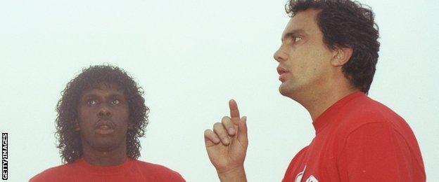 Emerson (left) and Branco
