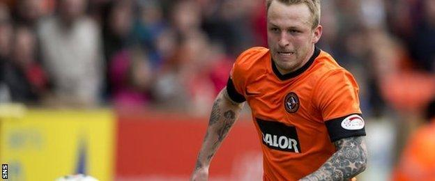 Derby County and former Dundee United midfielder Johnny Russell