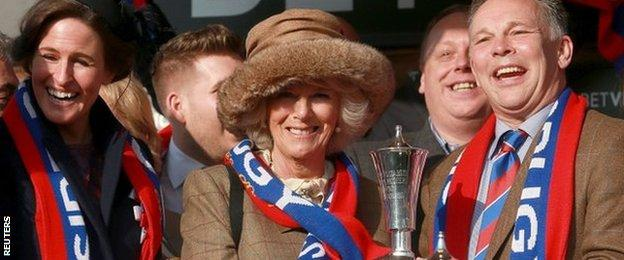Duchess of Cornwall and the Preston Family